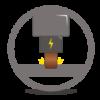 ikonca erodiranje